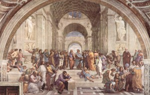 """Art School of Athens""; Raphael (cr to janeb13)"