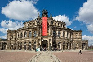 Semper Opera House in Germany (cr to MoreLight)